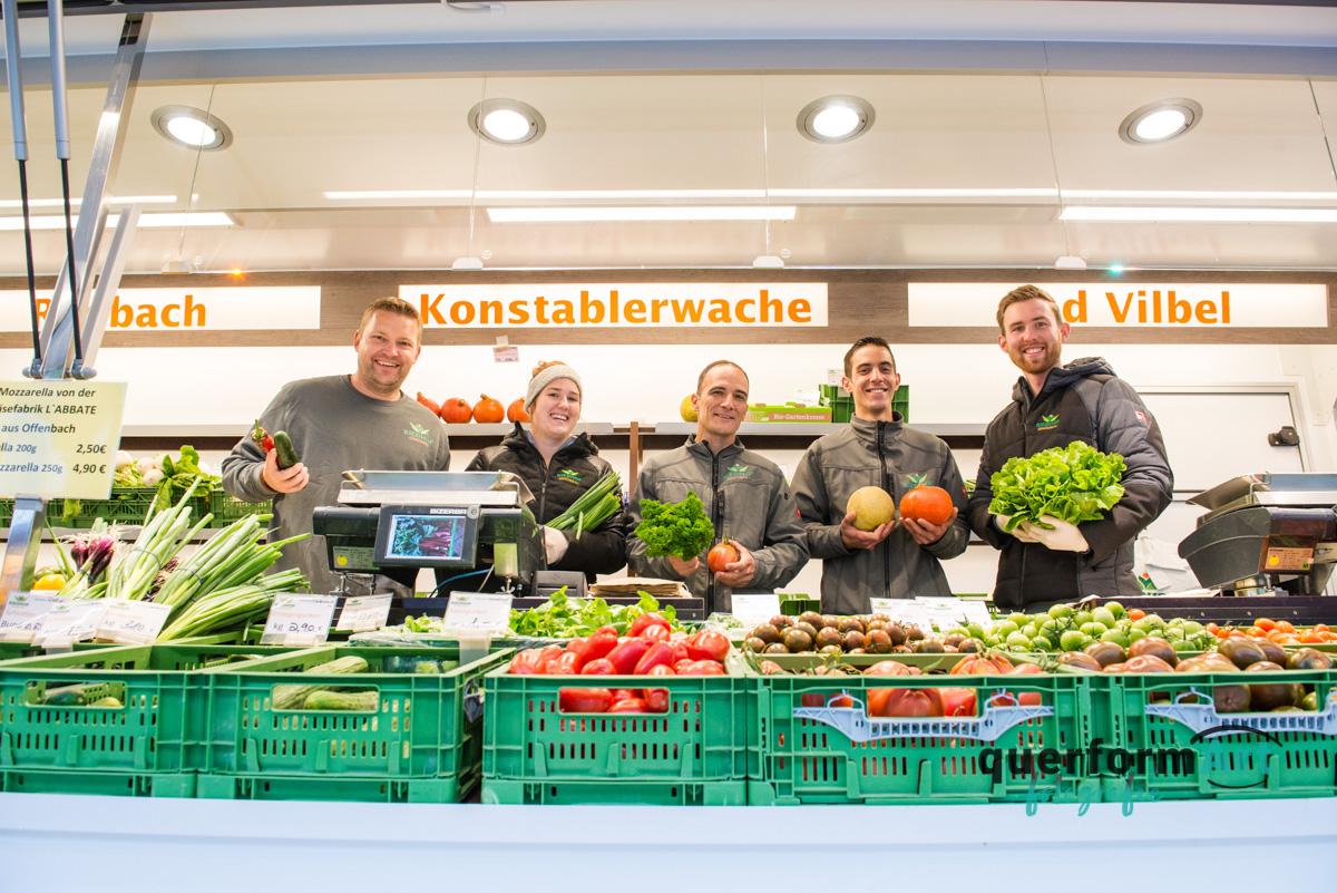 Teamfoto Bauernhof Frankfurt am Main