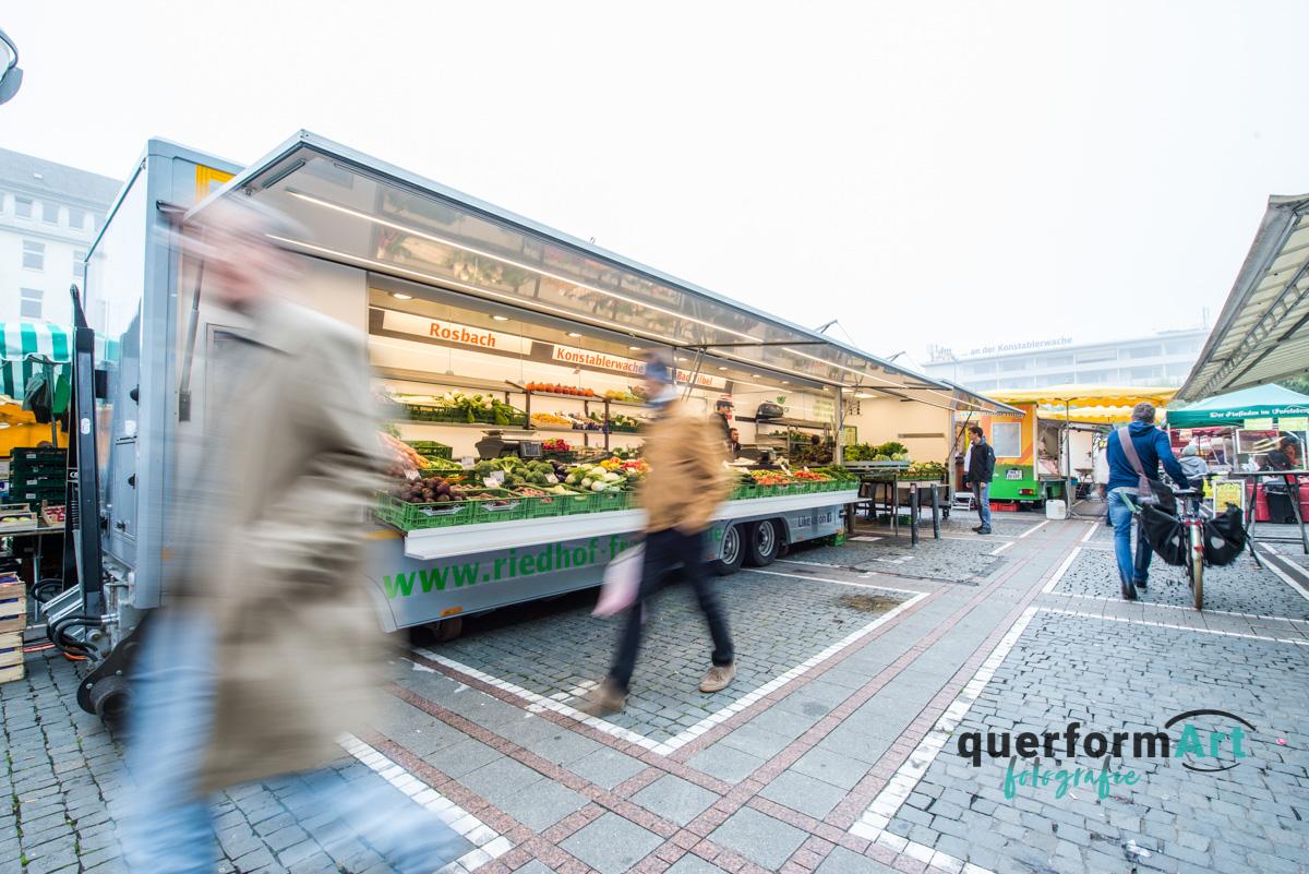 Gemüsestand in Frankfurt am Main
